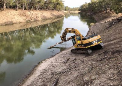 Re-Snagging the Darling River